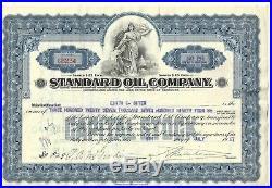 Standard Oil Company (kentucky). 1927 Common Stock Certificate