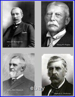 Standard Oil Trust, No. 100! Originalunterschrift J. D. Rockefeller