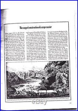 TWIN MINING PAIR w PETER SCHUTTLER TANDEM WAGON & STAGECOACH VIGNETTES