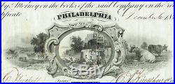 Tarr Homestead Oil Company, Venango County Pa. 1864 Stock Certificate