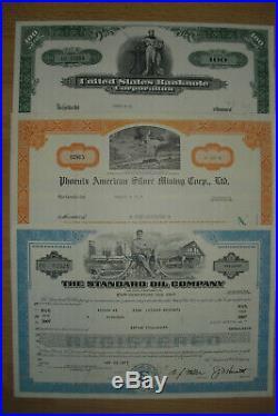 Top Sammlung 10 USA Aktien / Bonds
