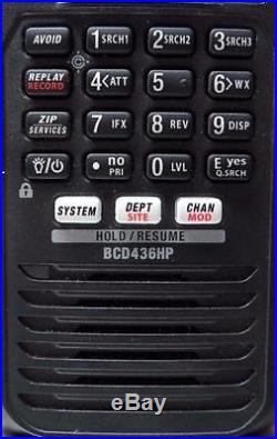 Uniden BCD436HP HomePatrol Series Digital Handheld Scanner, Black