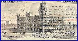 VERY RARE Centro Asturiano de la Habana 1965 Bono de $100