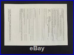 Vintage 2002 The WALT DISNEY COMPANY Issued Stock Certificate 1 Share EISNER