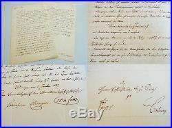 WERRA-EISENBAHN-GESELLSCHAFT 1856/57 Druckauftrag für AKTIEN an DIETZ (Coburg)