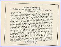 Zwickau-Marienthal Anteilschein 5 Reichsmark 1927, Kaninchenzüchter Verein